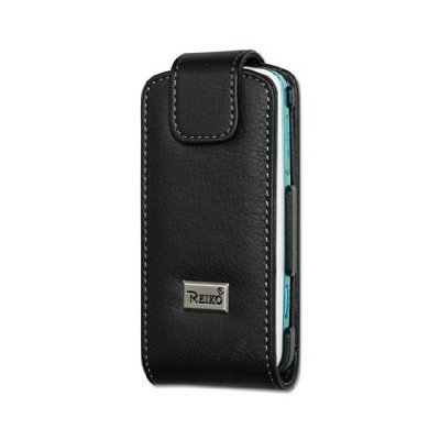 UPC 885249497343, Fashionable Perfect Fit Premium High Quality Leather Folio Pouch Protective Carrying Cell Phone Case with Belt Clip for Samsung Gravity T459 T-mobile - BLACK