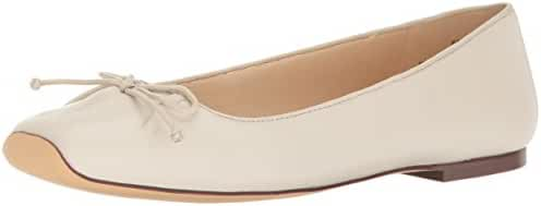 Nine West Women's Zissi Leather Ballet Flat