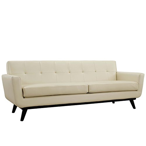 Modway Engage Bonded Leather Sofa, Multiple Colors