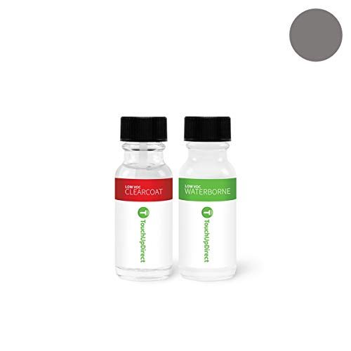 (TouchUpDirect Exact Match Automotive Touch Up Paint Compatible with Toyota Magnetic Gray Metallic (1G3) Jar - Essential Package)