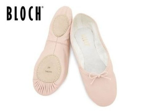 bloch ballet canvas 213 6 pink split 5 sole shoes adult X5dwqwx6