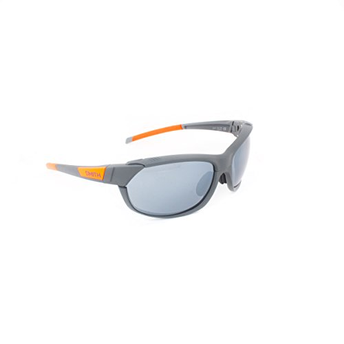 Smith Optics Unisex Pivlock Overdrive Performance Sunglasses Charcoal Neon Orange / Super - Running Smith Sunglasses