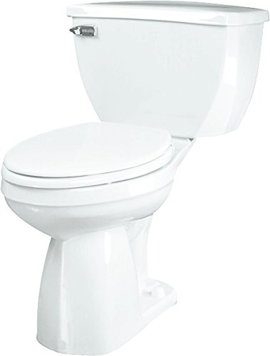 Gerber Plumbing 21-372 Gerber Ultra Flush Watersense Elongated Toilet Bowl Only, White ()