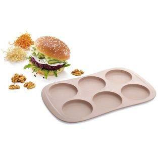 Free Burger (Silicone buns mold x 6 - Tescoma)