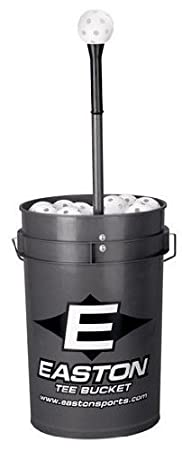 Easton Tee Bucket With 30 9-inch Training Balls