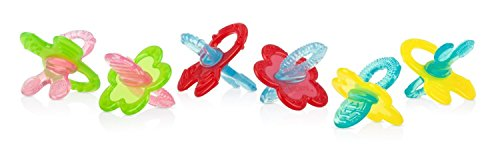 Nuby Chewbies Silicone Teether Green