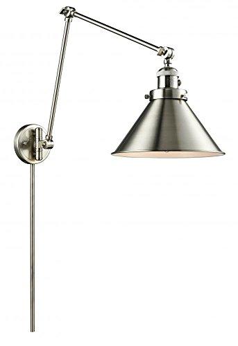 Innovations Lighting 238-SN-M10 1 Light Swing Arm, Brushed Satin Nickel