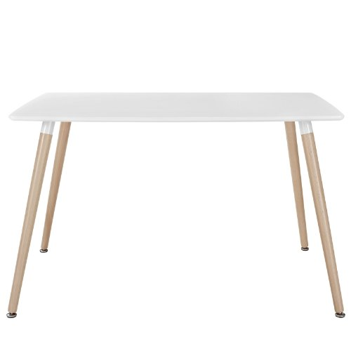 Modway Field Dining Table White Renovation Store