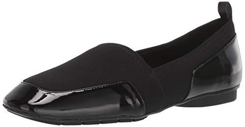 Donald J Pliner Women's DEELA-SY Loafer Flat, Black, 8 B US