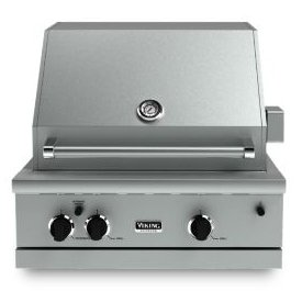 Viking vgbq33002relss 30 inch outdoor grill for Viking built in grill