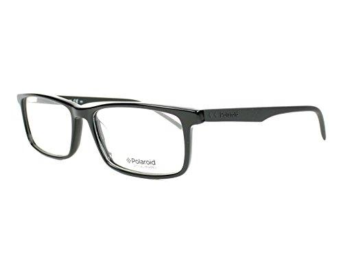 lunettes Polaroid glänzend Homme schwarz noir X Large schwarz de matt Montures nxnRrgEZ