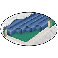 Waterbed Tube Set- Free Flow Softside fluid bed replacement 6 tubes 66in length