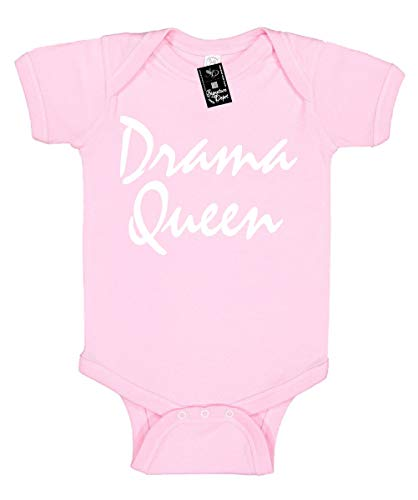 Infant Funny Baby Onesie Unisex T-Shirt Size 6 (Drama Queen) Novelty Bodysuit -