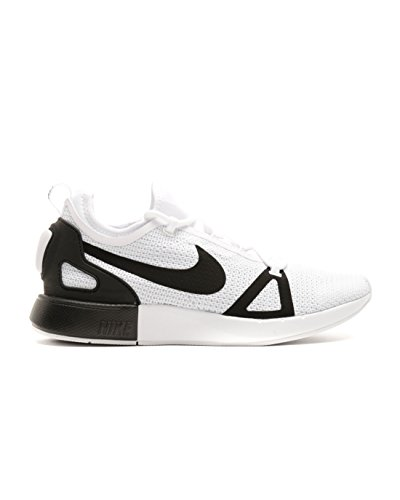 Nike Dual Racer Mens Running Trainers 918228 Sneakers Shoes (UK 10 US 11 EU 45, White Black Pure Platinum 102)