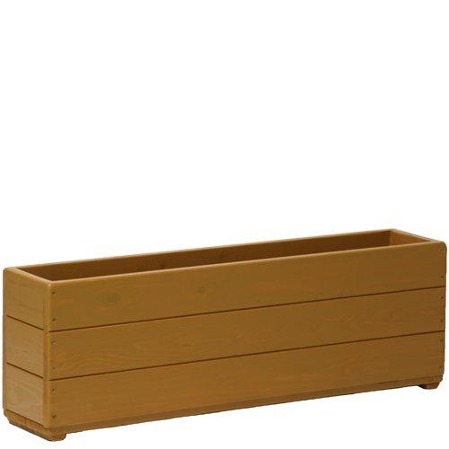 Welcome wood 深型スリムプランター90型 色はブライトブラウン(BB) 容量約34リットル B00G4R208S 90型サイズ (BB)ブライトブラウン (BB)ブライトブラウン 90型サイズ
