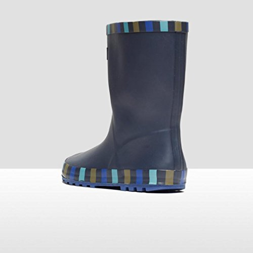 Peter Storm Jungen Striped Trim Wellies, Marineblau, 31.5