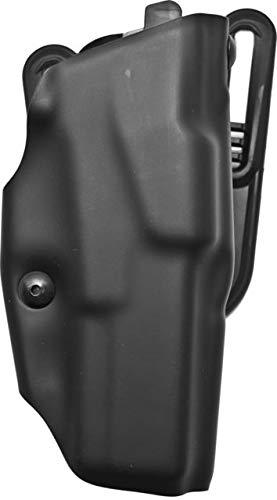 Safariland 6377 ALS Belt Slide Holster, Glock 17, 22 w/ITI M3 Light, Plain Black, Left Hand, ()