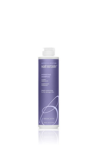 Moisturizing Shampoo Hydrating Formula - Brocato Saturate Daily Hair Shampoo: Intensive Moisture Hydrating Shampoo for Dry, Damaged Hair - Moisturizing Formula Safe for Color Treated Hair - Contains No Sulfate or Parabens - 10 Oz