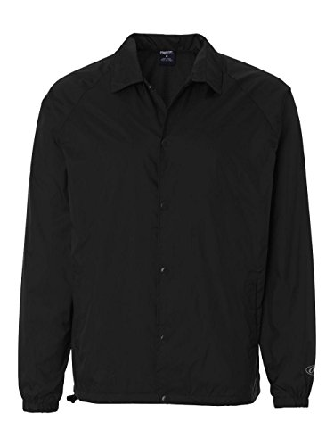 - Rawlings Adult Coaches Jacket (Black) (L)