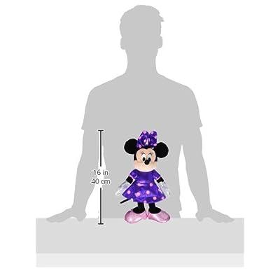 Ty Beanie Buddies Minnie Purple Sparkle Medium Plush: Toys & Games