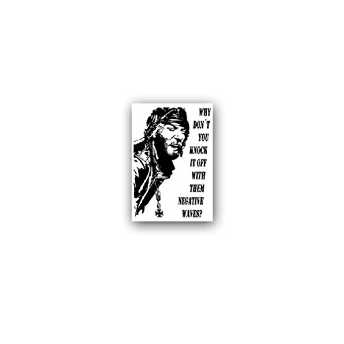 Kelly's Heroes Negative Waves assault film Donald Sutherland Spinner military badge emblem for Audi A3 BMW VW Golf GTI Mercedes (5x7cm) - Sticker Wall Decoration
