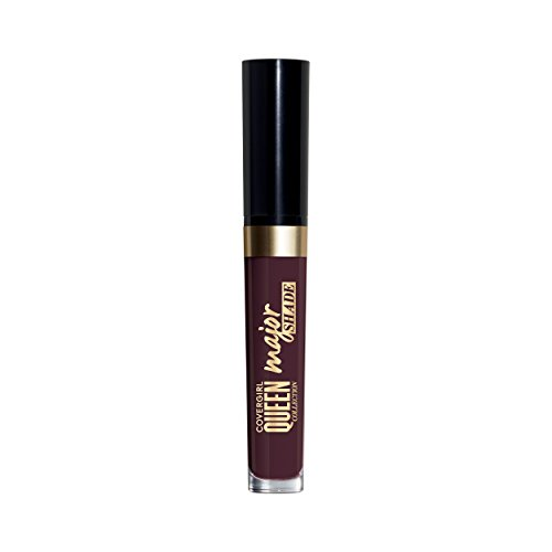 COVERGIRL Queen Collection Major Shade Matte Liquid Lipstick, Sweetest Taboo, 0.11 Pound (packaging may vary)