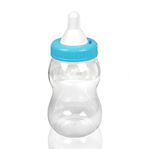 "13"" Jumbo Fillable Baby Shower Bank Plastic Decoration Centerpiece ... (Blue, 13"")"