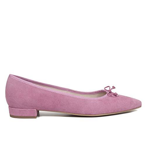 5320e7028 Cómodo Gota Gel Tacón Manoletinas Mujer Con Bailarinas En Mujer España  Zapatos Confort Rosa Hechos Zapato Piel Mimao Plantilla wPxWCWqA6