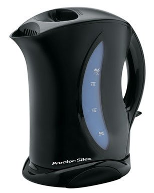 Proctor Silex K4077Y 1.7 Liter Cordless Electric Kettle - smallkitchenideas.us