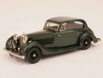Bentley 4.5 Litre Fixed Head Coupe (Barker 1936) Diecast Model Car Fixed Head Coupe