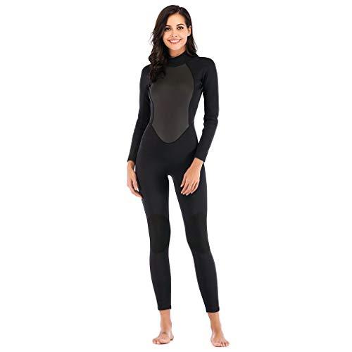 - YYVVAA Women One Piece Swimwear Dive Skin Surf Swimsuit Lycra UPF50+ Long Sleeve Bathing Suit