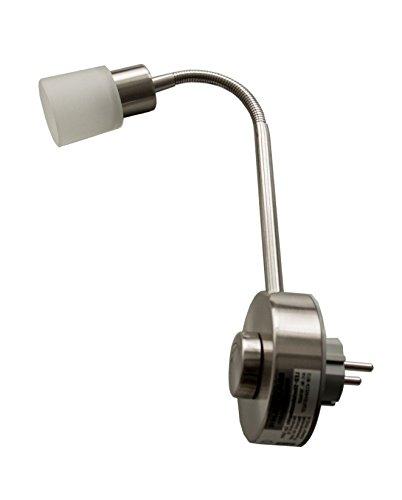 LED lámpara de piso dosis 3 Watt regulable - gracias a su cuello de cisne flexible: Amazon.es: Iluminación