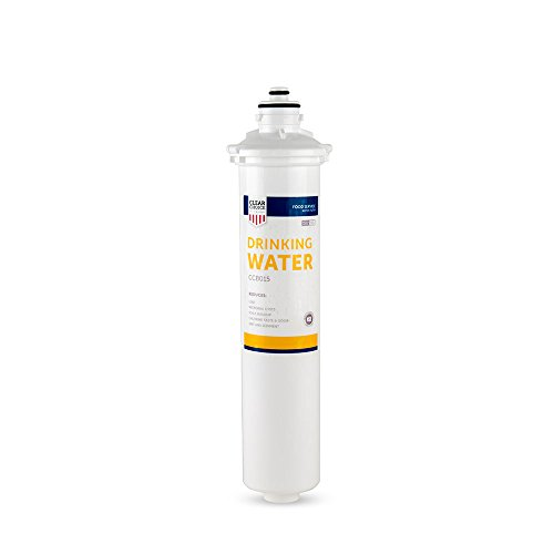 H54 Drinking Water - Clear Choice Drinking Water Filtration System Replacement Cartridge for Everpure 2-HL EV9592-01 EV9720-06 H-54 S-54 Also Compatible with Nu Calgon 9618-07 9619-06, BevGuard BGE-3200, 1-Pack