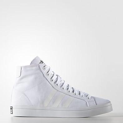 adidas Shoes Chaussure Court Vantage Mid Blanc 38
