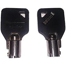Genuine Dirak D0205 Maintenance Logic Cabinet Key for MRL Kone Elevator Logic Cabinet (1)