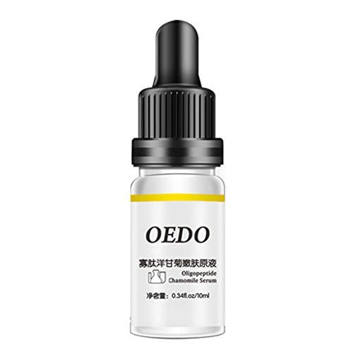 Rejuvenation Chamomile Skin Serum Essence Brightening Essence Liquid,Pausseo Shrink Pores Face Vitamin Serum Hyaluronic Acid Liquid Moisturizing Whitening Essential Oils (10 mL / .34 fl oz)
