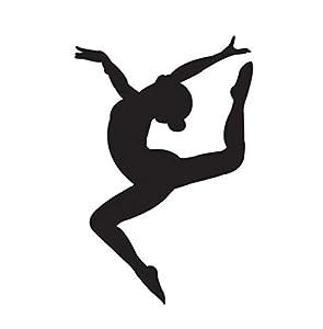 Amazon Com Gymnastics Girl Vinyl Decal Window Sticker Car
