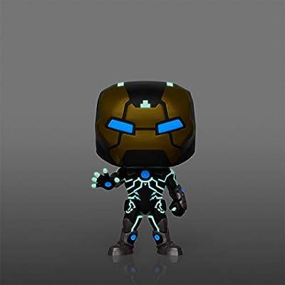 Funko Marvel Iron Man Model 39 Pop Figure (Glows in The Dark) (AAA Anime Exclusive): Toys & Games