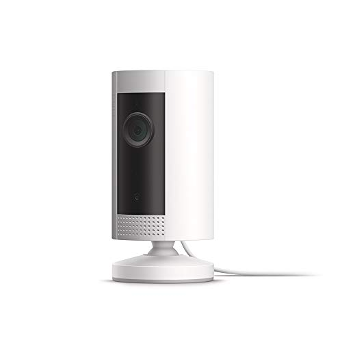 Introducing Ring Indoor Cam, Compact Plug-In HD security camera with two-way talk, Works with Alexa