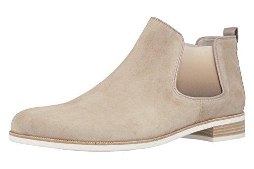 GABOR - Damen Chelsea Stiefeletten - Beige Schuhe in Übergrößen