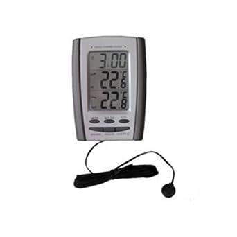 neolab 2 - 5439 - Termómetro digital para interior y exterior, de 50 a + 70 °C: Amazon.es: Industria, empresas y ciencia