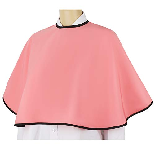 Make-up Cape, Segbeauty Hair-Cut Cape, Salon Beautician Cape Esthetician Makeup Cape für Kunden mit verstellbarem Klettverschluss
