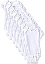 Gerber baby-girls 8-pack Short Sleeve Onesies Bodysuits