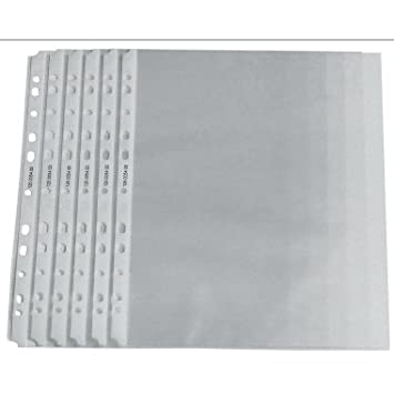N//A Prospekth/ülle DIN A4 Polypropylen 0.05 mm Transparent 126659800 100 St.