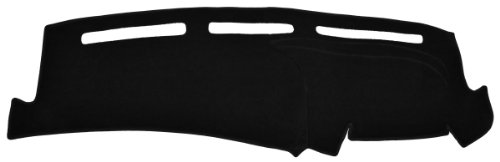 Pontiac Grand Am Dash Cover Mat Pad - Fits 1996 - 1998 (Custom Carpet, Black)