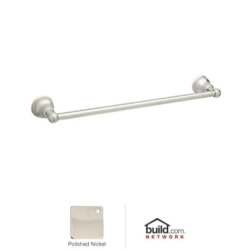 Rohl CIS1/24PN 24-Inch Single Towel Bar in Polished Nickel by Rohl