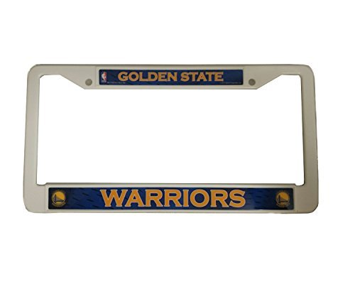 License Plate Island State Rhode (Rhode Island Novelty NBA Golden State Warriors 12 inch x 6 inch Plastic License Plate Frame by Rico Industries)