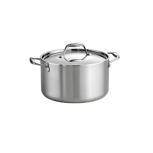 Tramontina 80116/040DS Covered Sauce Pot, 6 quart, Stainless