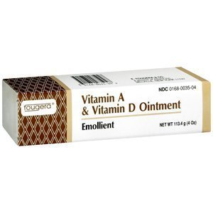 Vitamin A & D Ointment, 4 oz, (Pack of 2) by Fougera Pharmaceuticals Inc