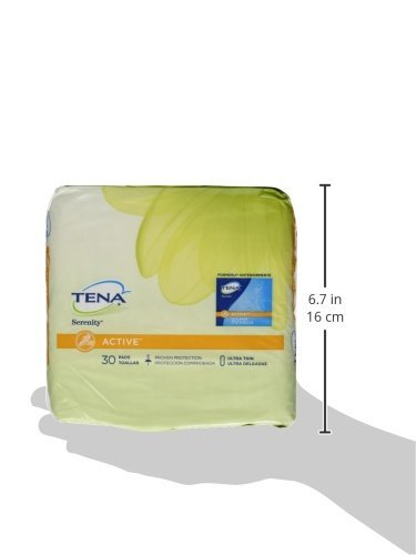 TENA Intimates Light Ultra Thin Pads Regular 30 count (pack of 3)